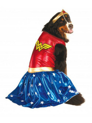 Big Dogs' Wonder Woman Pet Halloween Costume