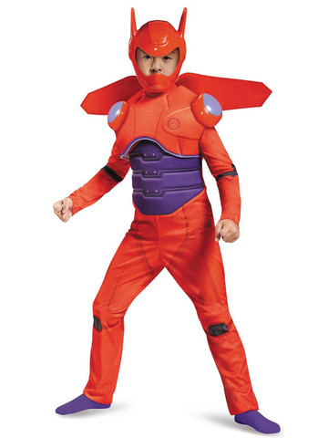 Big Hero 6: Kids Deluxe Baymax Muscle Costume