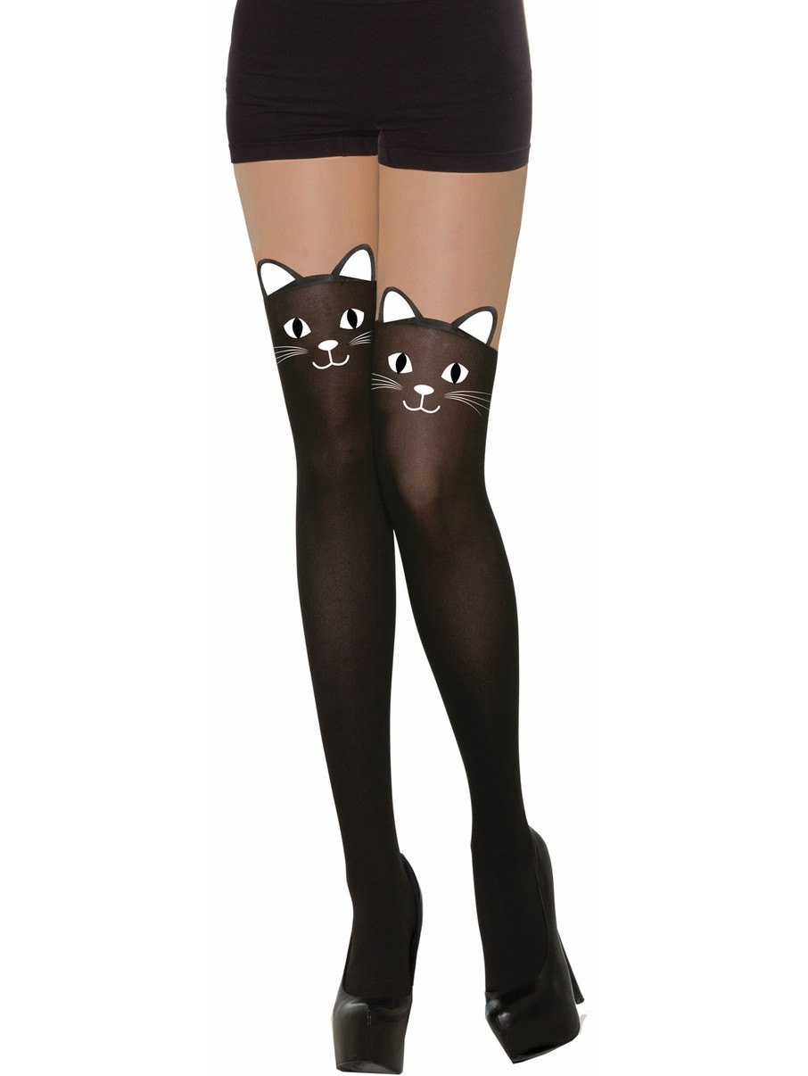 View larger image of Adult Black Cat Stockings -