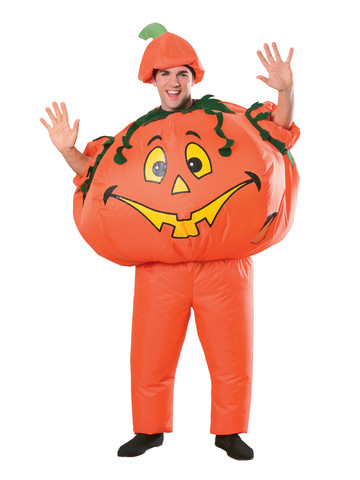 Inflatable Pumpkin Costume for Adults
