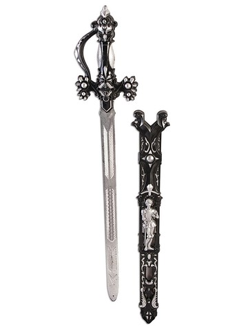 Men's Medieval Black King Sword