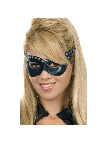 Black Leather Mask Accessory