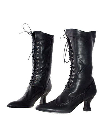 Black Mid Calf Boot Adult
