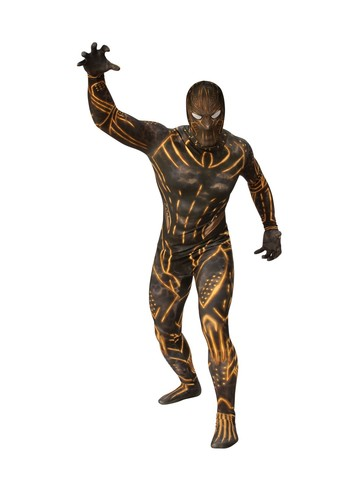 Adult Second Skin Erik Killmonger Skin Suit - Black Panther Movie