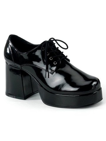 Black Platform Shoes Adult