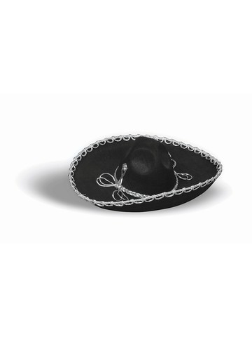 Traditional Black Sombrero