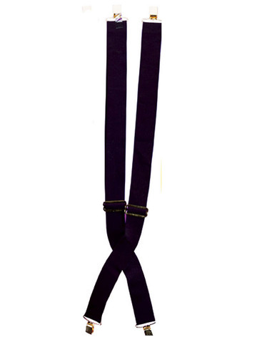 Suspenders - Black - One Size