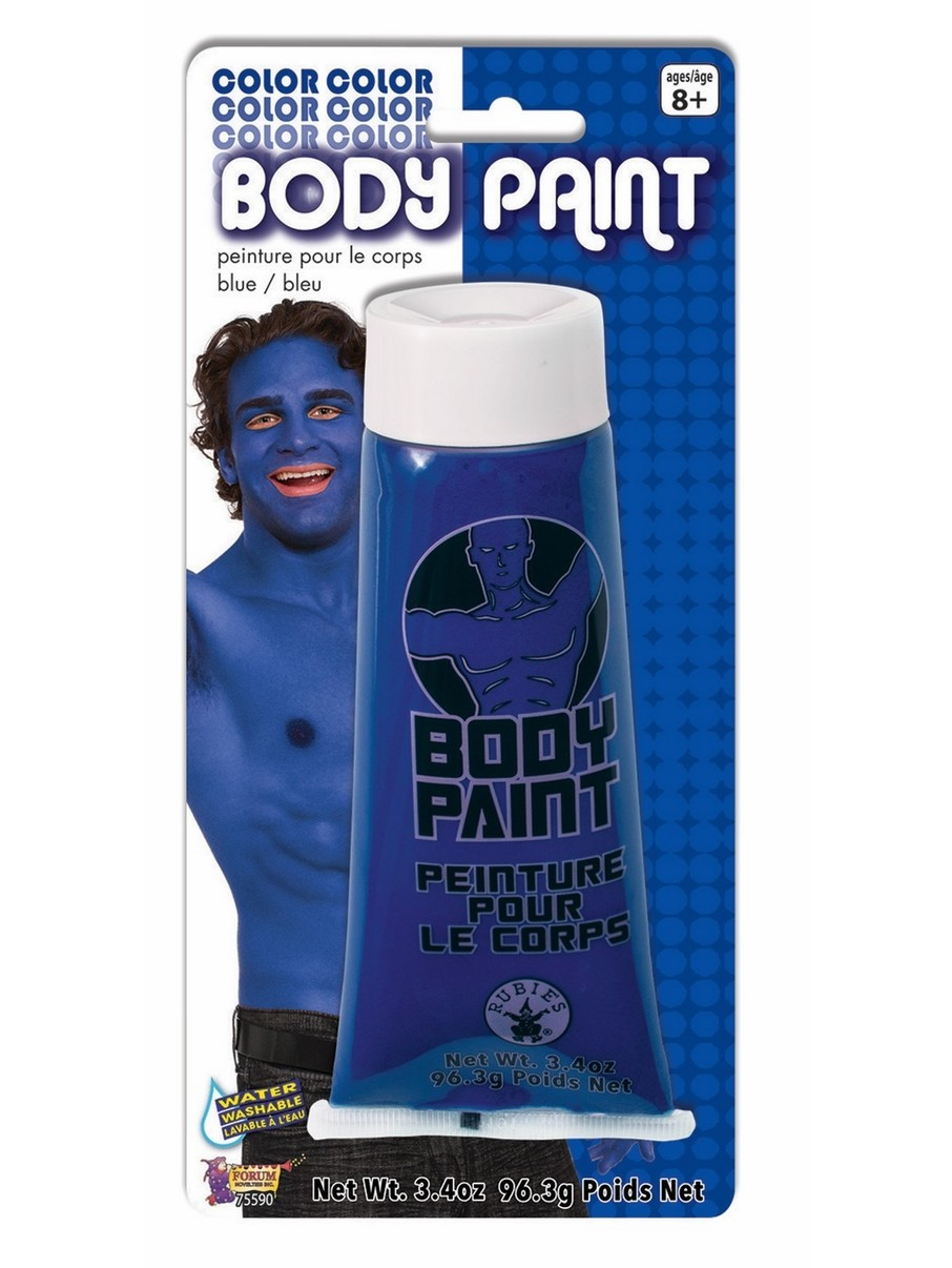 View larger image of Blue Body Paint