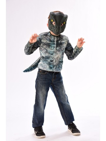 Kid's Jurassic Park Blue Velociraptor Dress Up Set