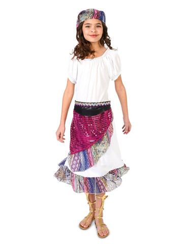 Kids Boho Gypsy Costume