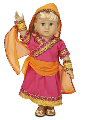 "Bollywood 18"" Doll Costume"
