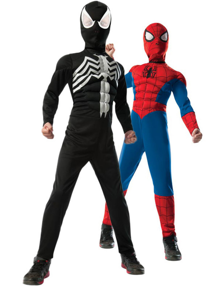 View larger image of Boys 2-1 Ultimate Reversible Spider-Man Child Costume