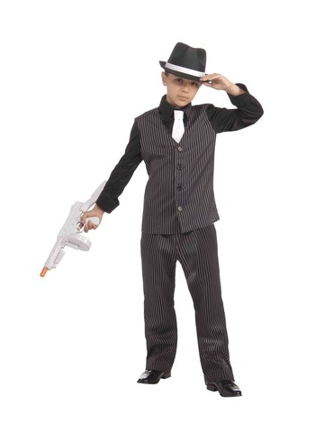 1920's Lil' Gangster Childrens Costume