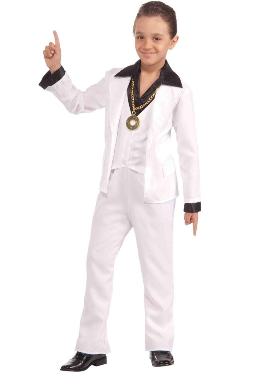 View larger image of Boys 70's Disco Fever Costume