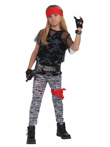 Boy's Eighties Rocker Costume