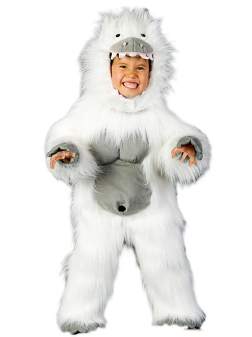 Boys Abominable Snowman Costume