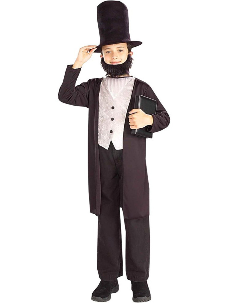 View larger image of Boys Abraham Lincoln Costume