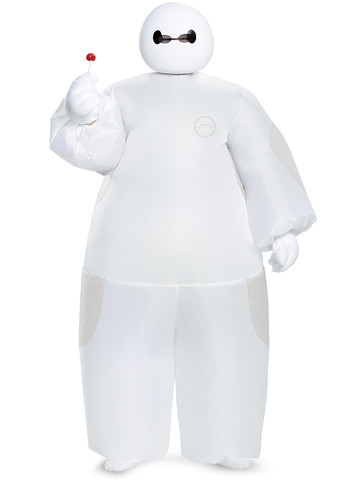 Boys Big Hero 6 White Baymax Inflatable Costume