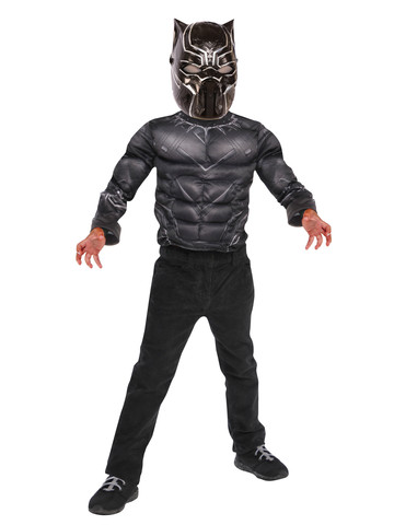 Black Panther Deluxe Costume Top Set