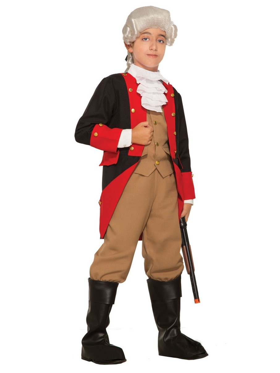 View larger image of Boy's British Soldier Costume