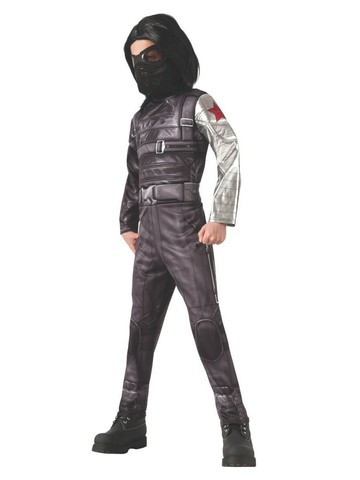 Winter Soldier Deluxe Captain America Costume for Kids