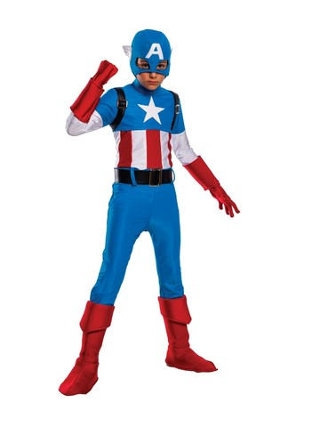 Child's Captain America Costume