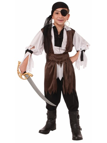 Boy's Explorers of the Caribbean Pirate Costume