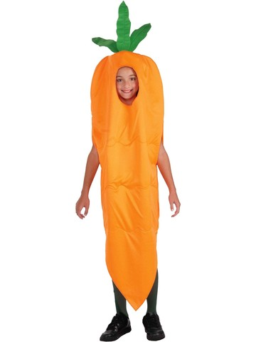 Boys Carrot Costume