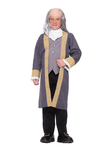 Boys Classic Ben Franklin Costume