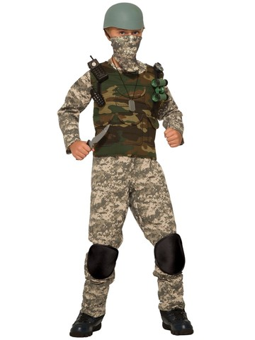 Boy's Frontline Trooper Costume