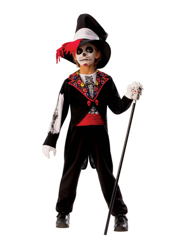Boys Day Of The Dead Boy Costume