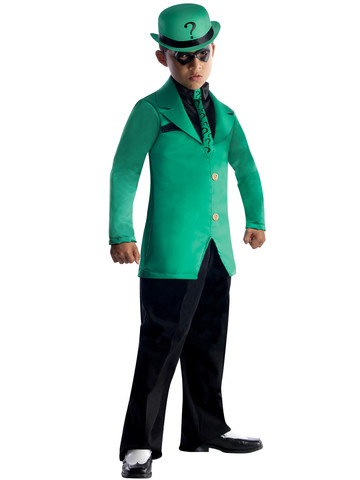 Boys DC Comics Gotham Super Villains Riddler Costume