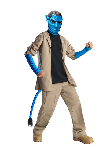 Boys Deluxe Avatar Jake Sully Costume