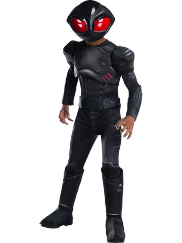 Aquaman Movie Black Manta Deluxe Kids Costume