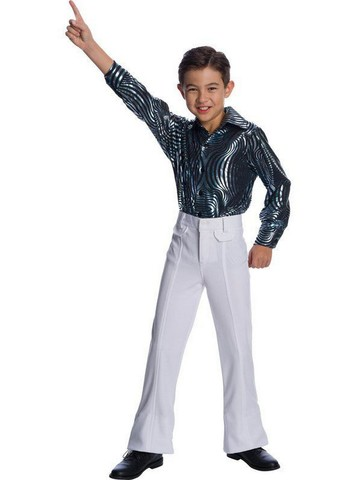 White Disco Pants for Kids