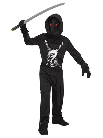Ninja Fade In & Out Costume for Boys