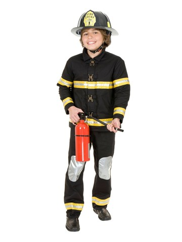 Boys Firefighter Chief Helmet