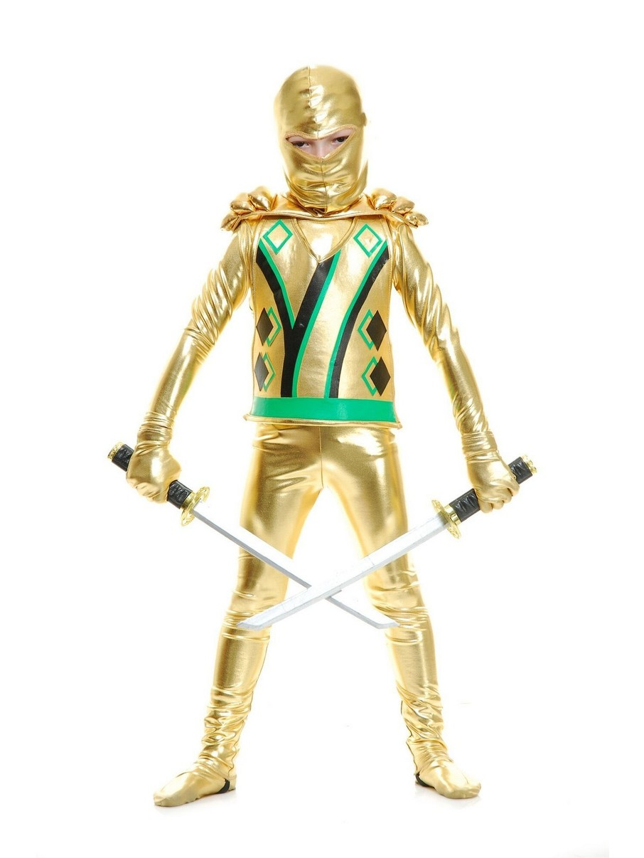 View larger image of Gold Armor Ninja Avenger Child Costume
