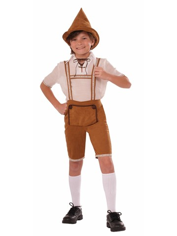 Boy's Handsome Hansel Costume