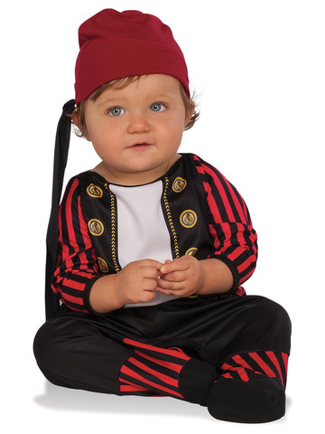 Boys Todder Pirate Cutie Costume