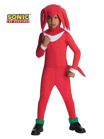 Boys Knuckles Sonic the Hedgehog Costume