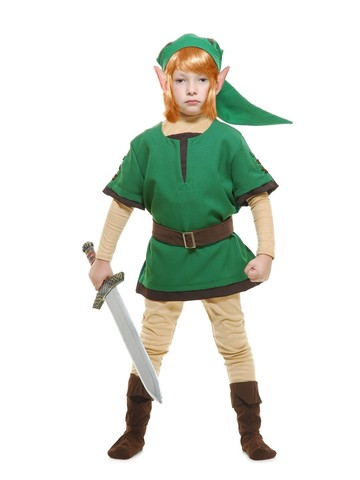 Child's Elf Warrior Costume