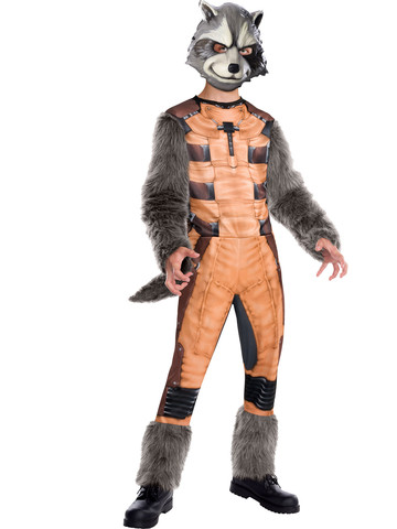 Boys Marvel's Guardian of the Galaxy Deluxe Rocket Raccoon Costume