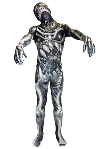 Boys Monster Collection Skull And Bones Morphsuit
