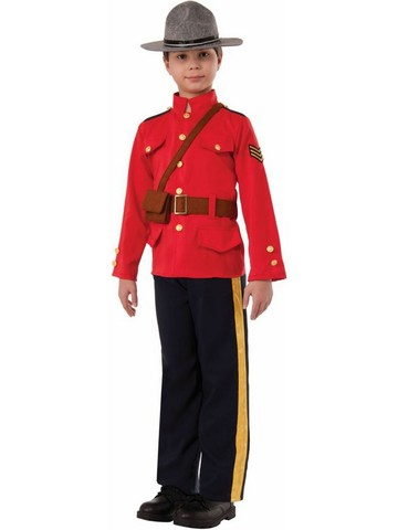 Boy's Canadian Patrol Costume