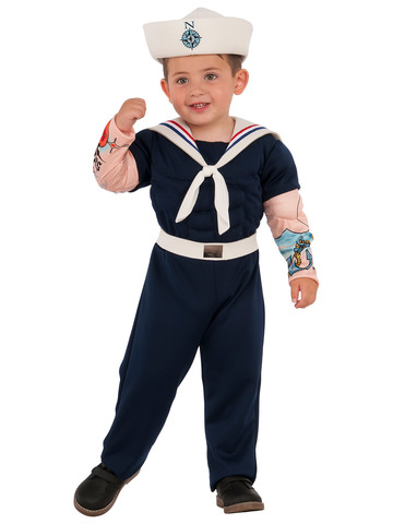 Boys Muscle Man Sailor Costume