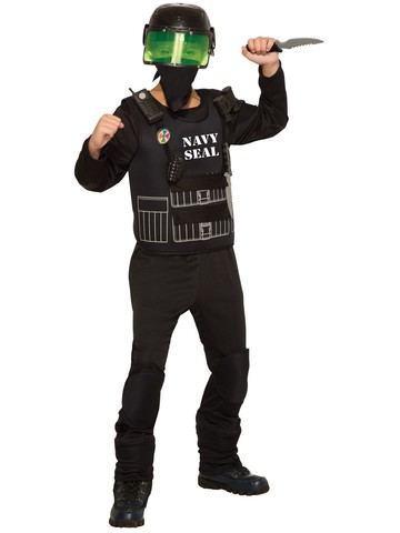Boy's Seal Team Six Costume
