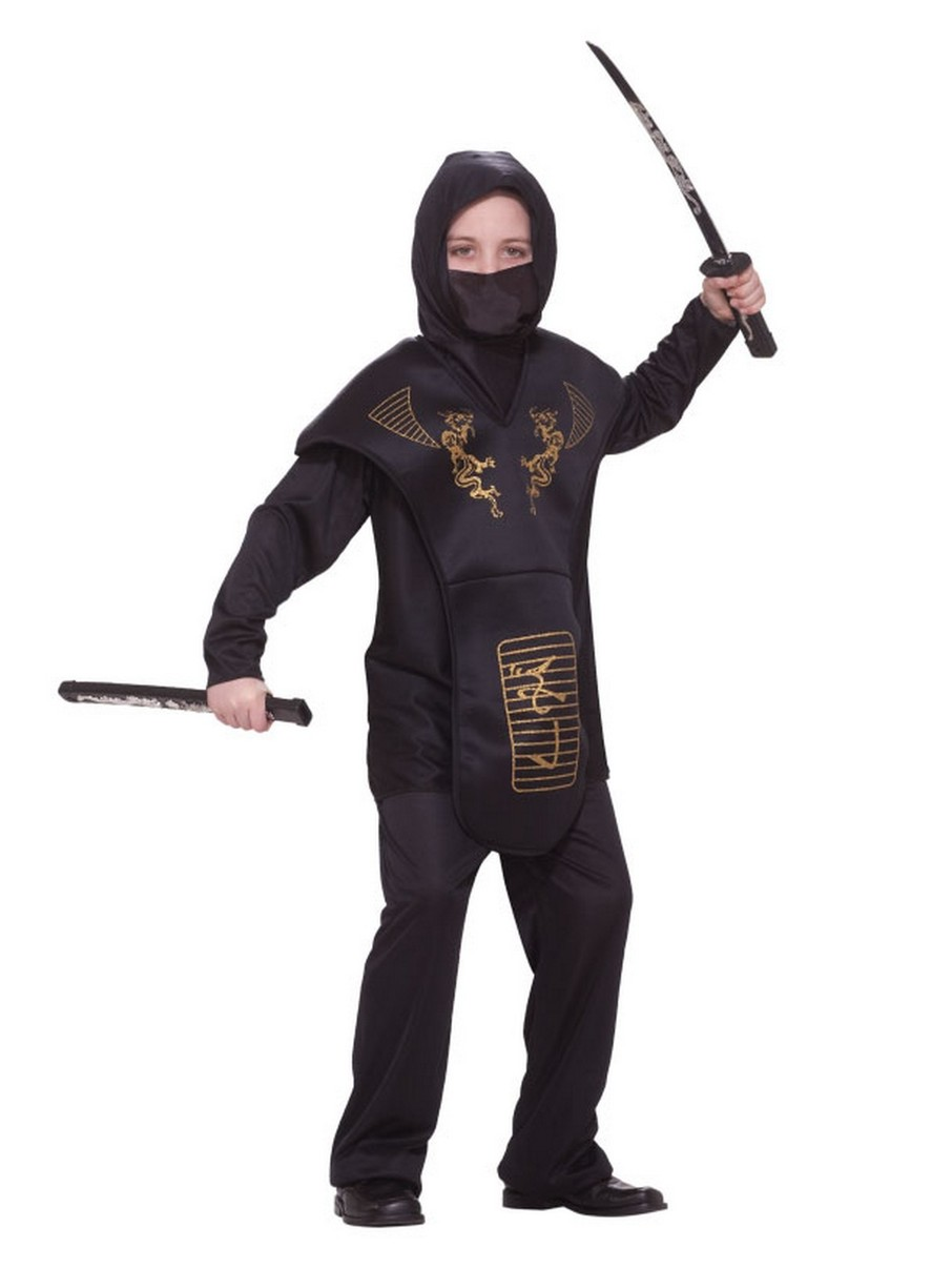 View larger image of Kids Ninja Costume