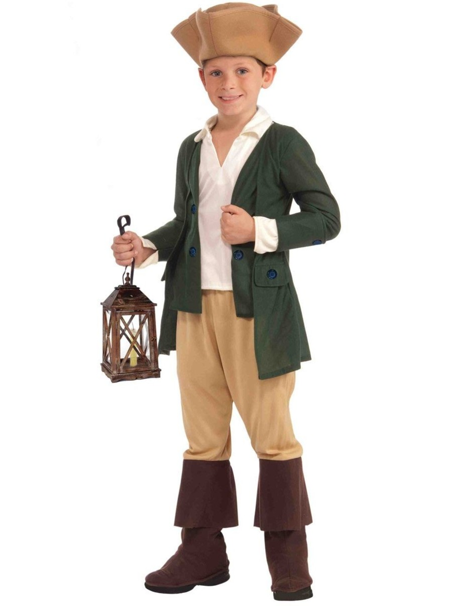 View larger image of Boys Paul Revere Costume