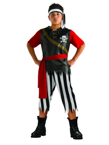 Kid's Pirate King Costume